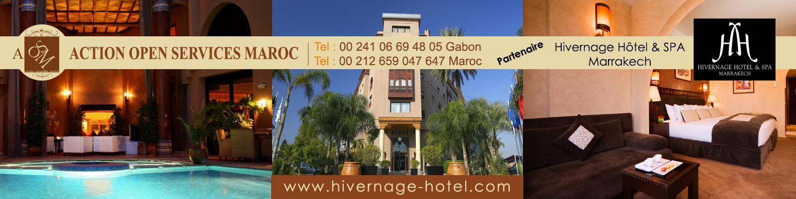Hivernage, hotel SPA